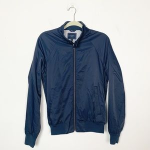 J. Crew Factory Jackets & Coats - J. Crew Factory Chatham Harrington Jacket Blue XS